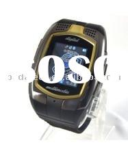 The first model watch phone M860+ with Dual SIM card one standby , 1.3 inch screen, 130 Pixels