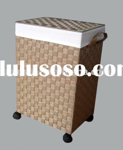 Wheeled Wooden Laundry Hamper For Sale Price