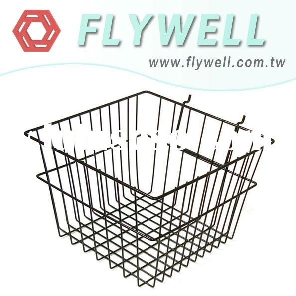 Wire Baskets For Slatwall - mesh wire baskets household storage fruit display fixtures