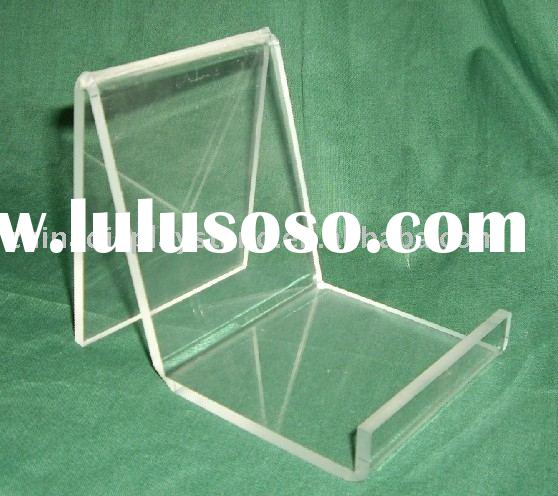 acrylic riser,acrylic rack,acrylic plate display,acrylic easel display