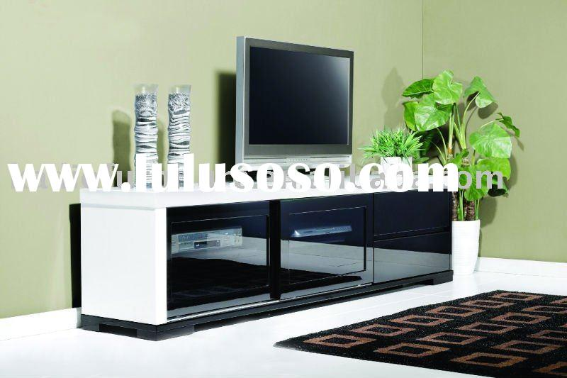 black and white tv stand KD-862
