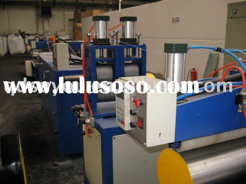 new  Large Diameter HDPE plastic pipe production line