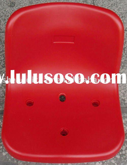 plastic football stadium chair (be installed directly on the concrete stand)