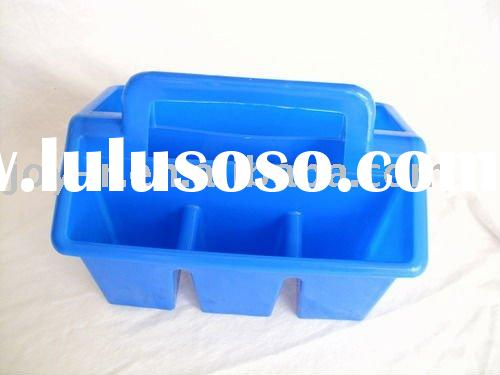 plastic shower caddy(4 cell) baskets