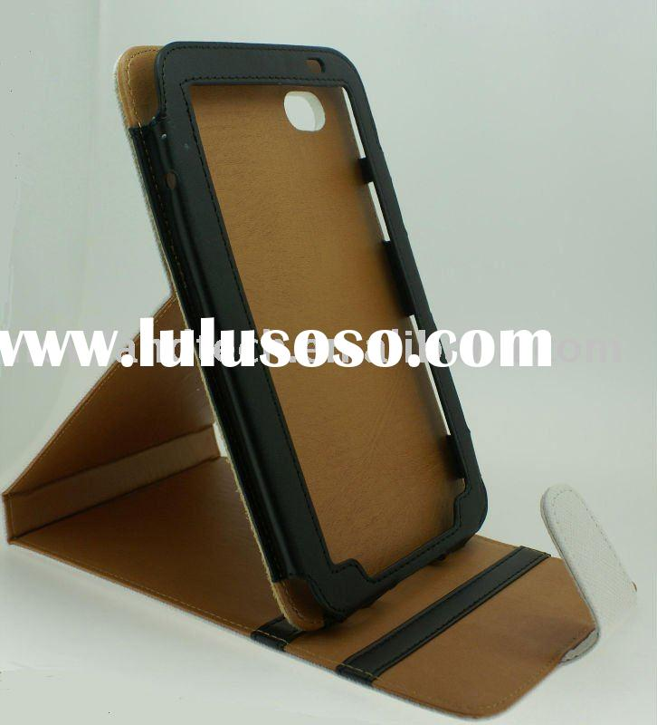 stand leather case for samsung galaxy tab