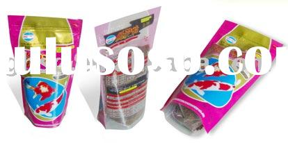 stand up zipper packaging bag for fish food GH-PET0140