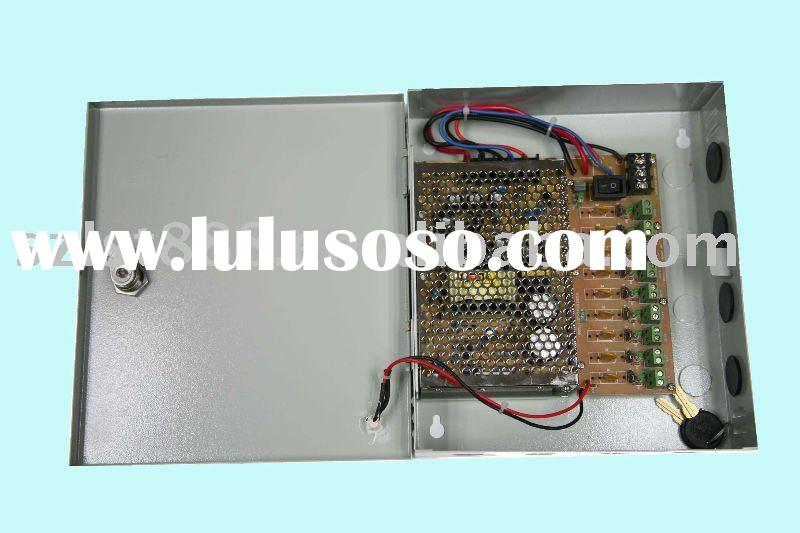60W 12V5A  9 channels CCTV Power Distribution Box