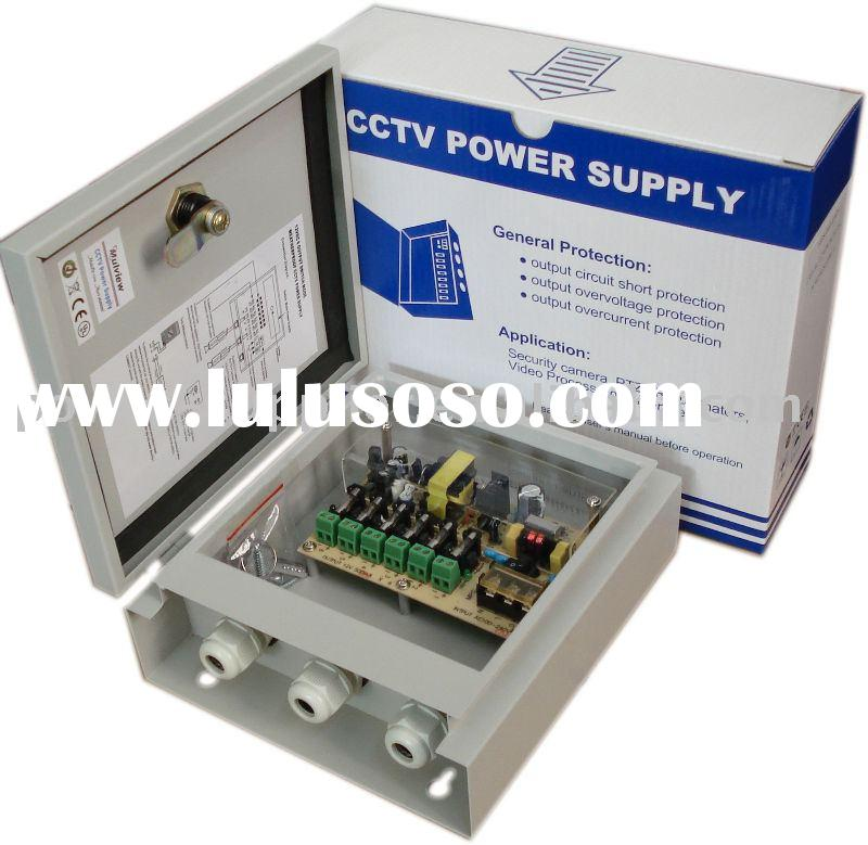 6CH/3A weatherproof CCTV Power Distribution Box(Outdoor Used)