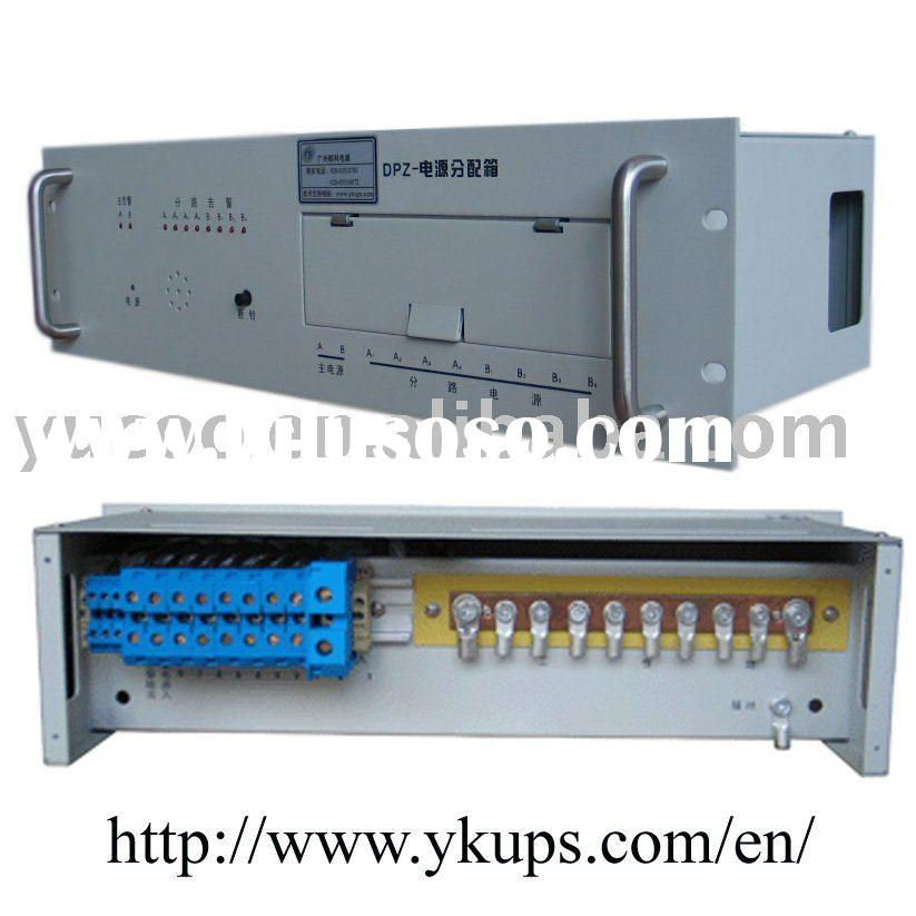 8chs DC Power Distribution Panel 19inch Rack
