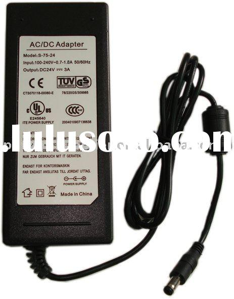 CE, C-TICK, IEC 24V3A desktop Power Supply (led power unit)