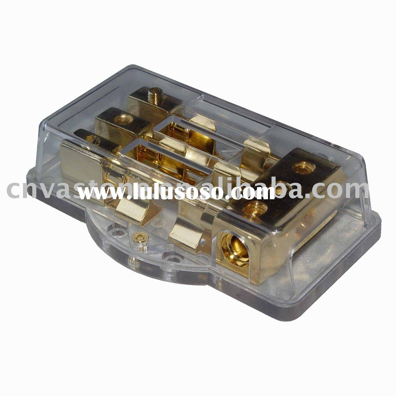 Car Audio Accessory-Power Distribution Terminal Block 34