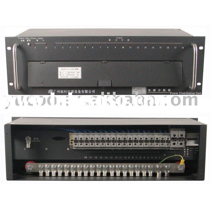 DC Power Distribution Box 19inch Rack