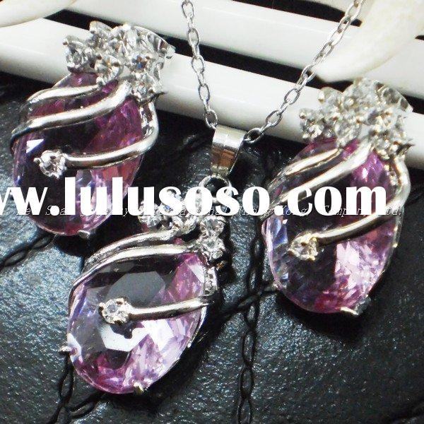 Free Sample Cubic zirconia Cz 2011 New Design Gift Basket Wholesale Jewelry  Present Ideas Free Samp