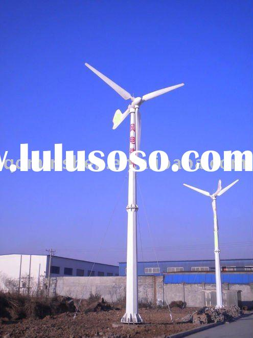 Grid or off  Horizontal axis 10kw wind turbine