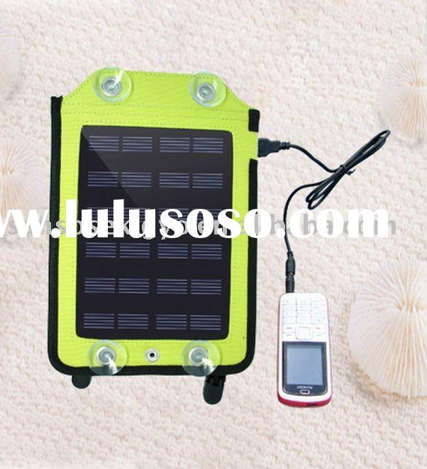 Portable Solar Charger for charging for mobile phone MP3digital cameravideo camera GPS etc.