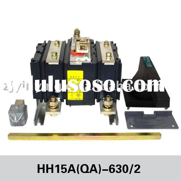 industry use QA power distribution board  cut out switch