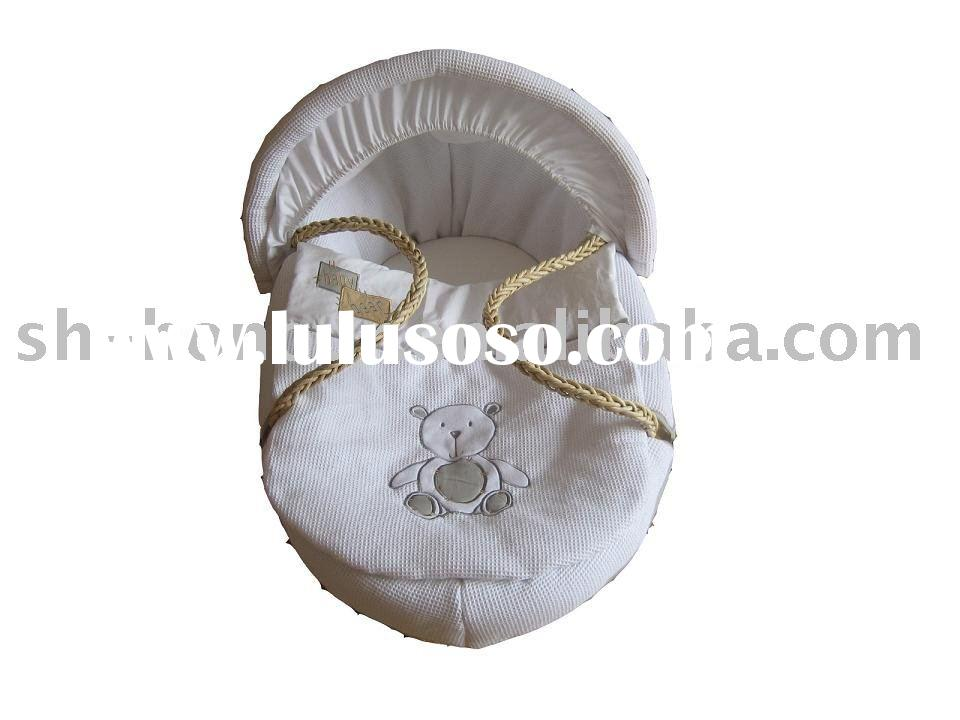 moses basket set/baby basket/baby products