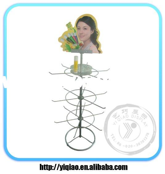 table top display metal wire racks for hanging stationery