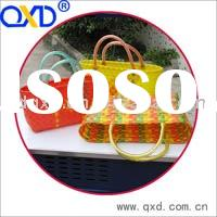 weaving basket, light and soft materials. all colors and sizes, various can recycle, environmental f