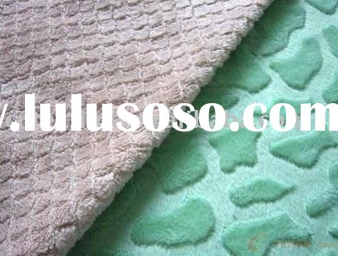 100% polyester embossed micro fabric