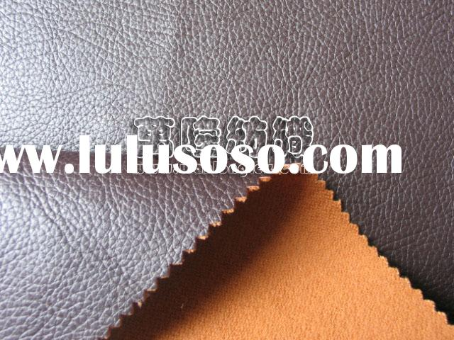 Artificial Leather suede fabric for Sofa cover