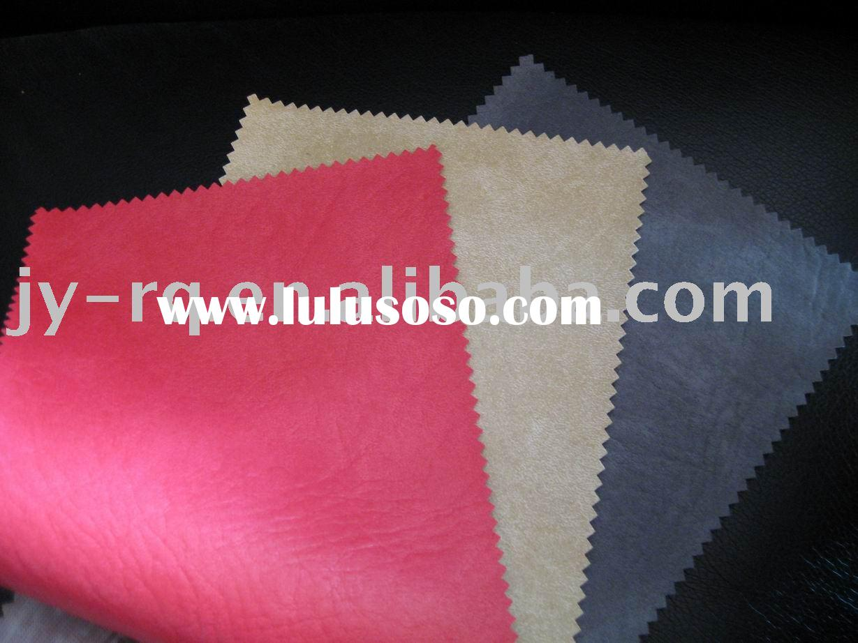 Artificial leather(Furniture material, Synthetic leather ,High elasticity and soft bay hand feel,you