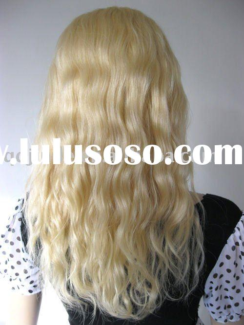 Blonde Remy Human Hair Full Lace Wig