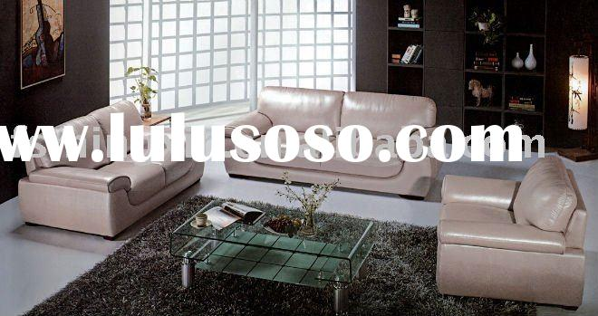 Classical top grain leather sofas MX-9028#