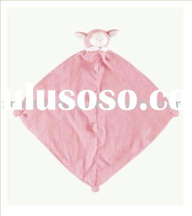 Cute plush blanket for baby