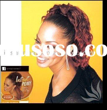 Half Weavy Drawstring Wigs - Synthetic hair ponytail