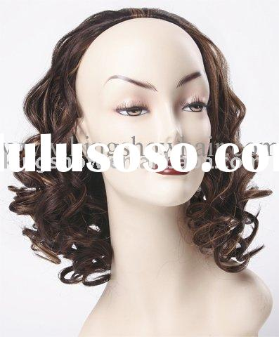 Half Wig with synthetic hair