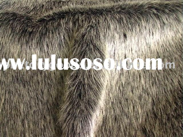 Jaspe imitation chinchilla fur faux fur
