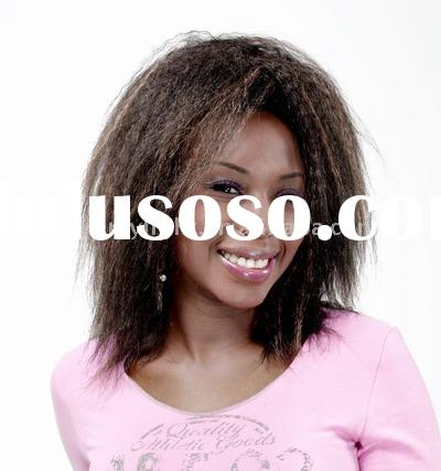 Ladies' Fashion wigs/synthetic wigs/artificial hair/african wigs/American African wigs/kinky
