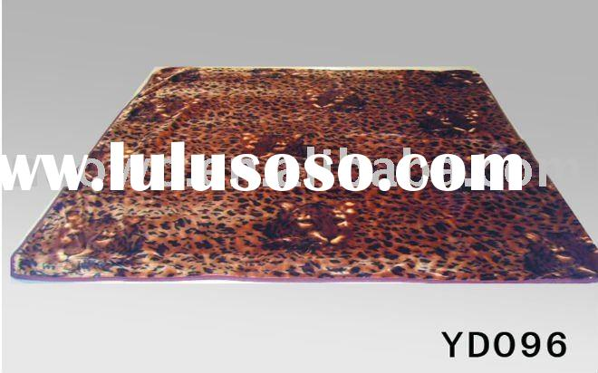 No.YD096 leopard mink blanket price