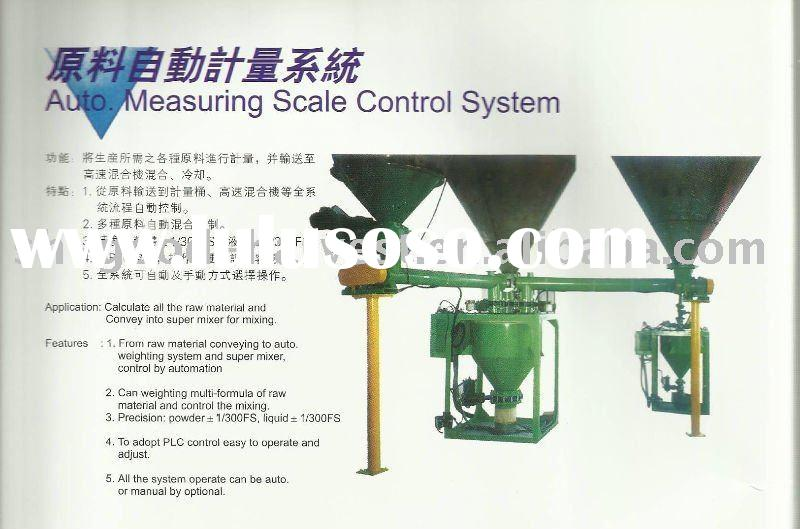 PVC Film/Sheet Automatic Measuring Scale Control System