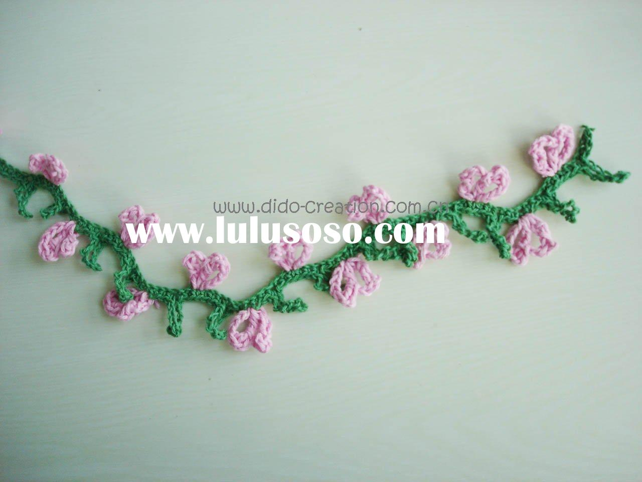 RB01004  Handmade Crochet Fashion Accessories Trimming edging