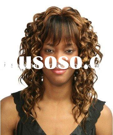 Synthetic hair Wigs - Curly Synthetic Fashion hair wigs