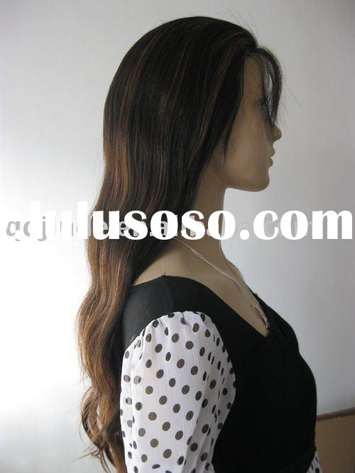 Top Quality Human Hair Injection Full Lace Wig