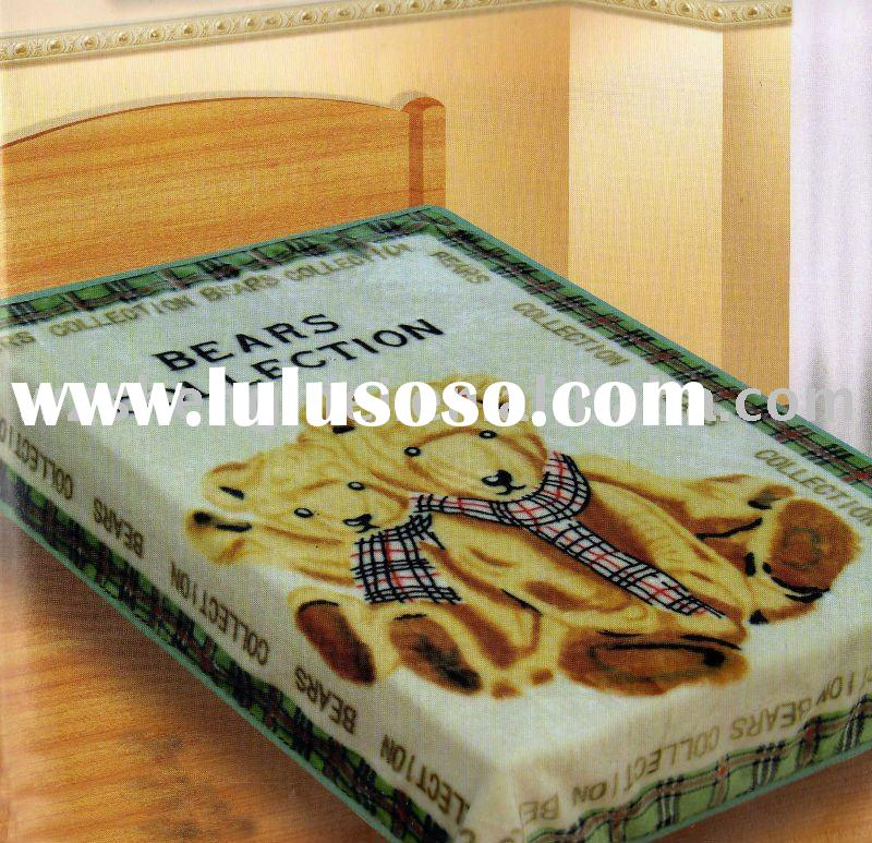 Two Ply Super Soft Printed mink Blanket