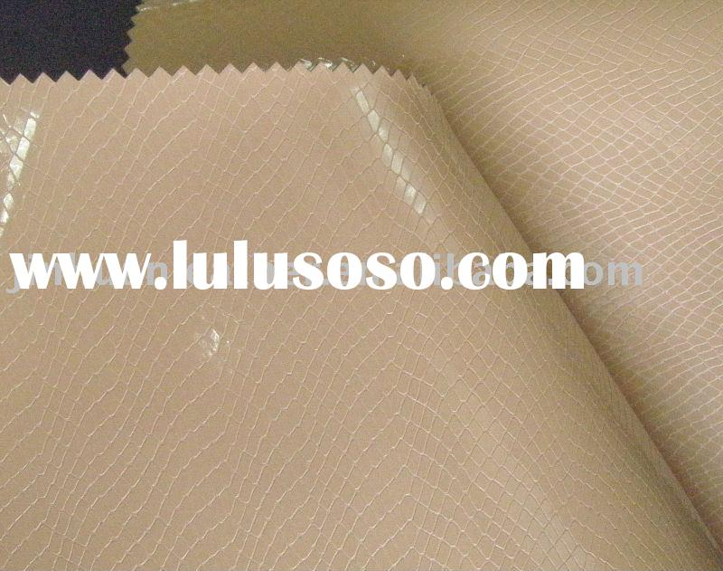 artificial shoes leather