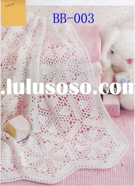 fashion crochet baby blanket