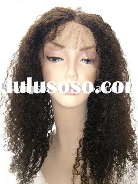 synthetic hair full lace wig