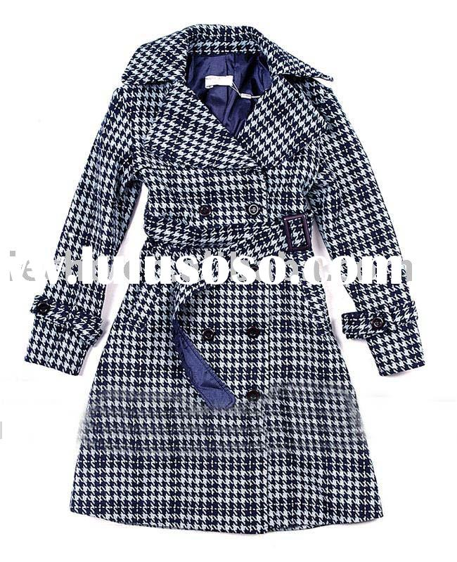 women's fashion long coat ( women apparel , designer fashion coat )