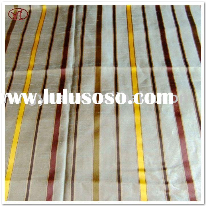 100%polyester yarn dyed fabric