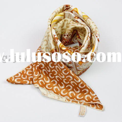 2011 New Arrival Brand Designer Spinning Silk Scarf  Shawl Pashmina