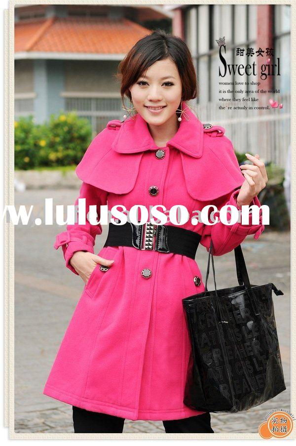 2011 New Arrival  Shawl Collar  Military Styles Crotch Long  Wholesale Winter  Jacket