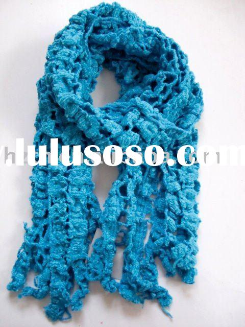 2011 fashion knitted winter scarf  multicolor