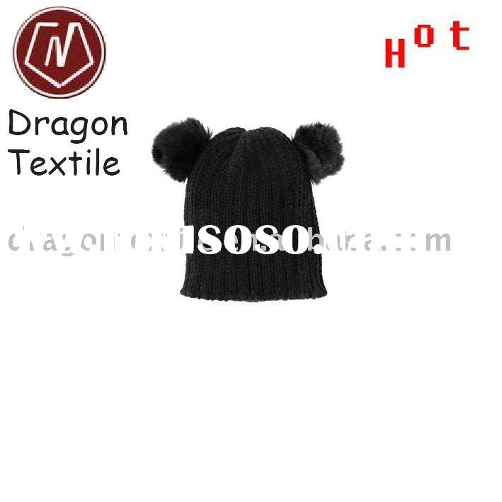 2011 new design knitted animal hat