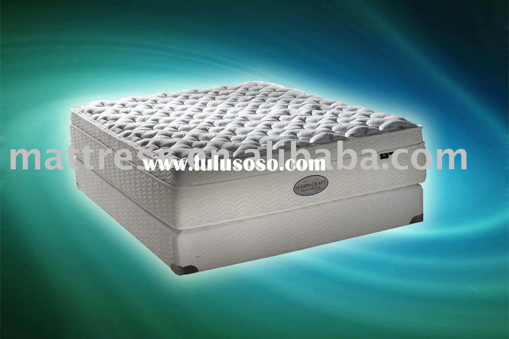 3-zone pocket spring mattress