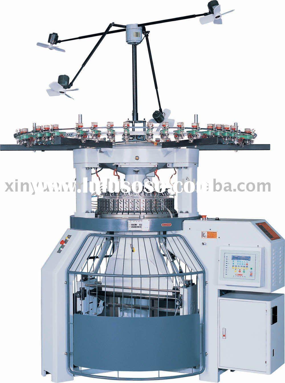 Knitting Oil Specifications : Double body size circular knitting machine for sale